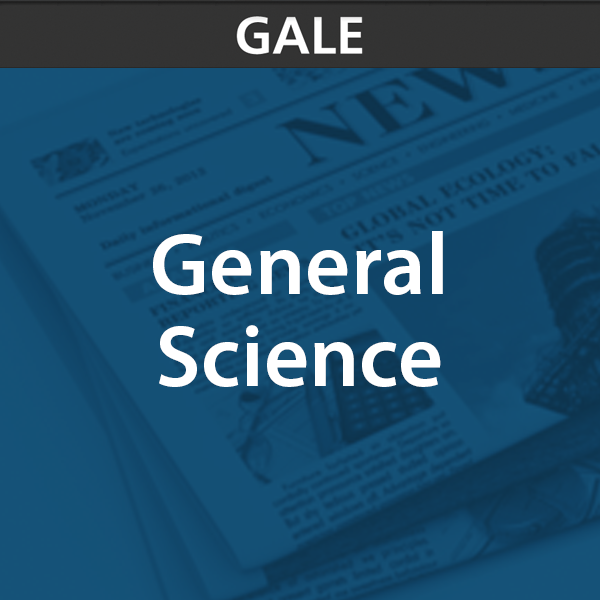 gale general science