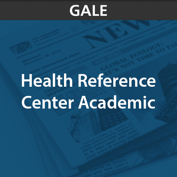 gale health reference center academic