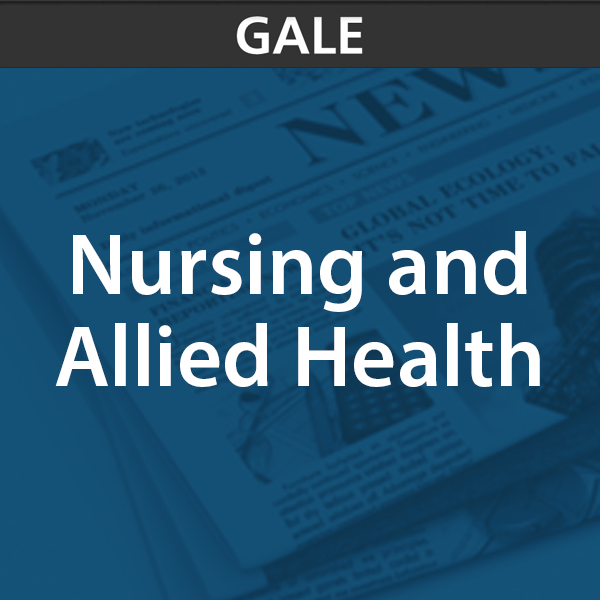 gale nursing and allied health