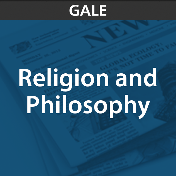 gale religion and philosophy