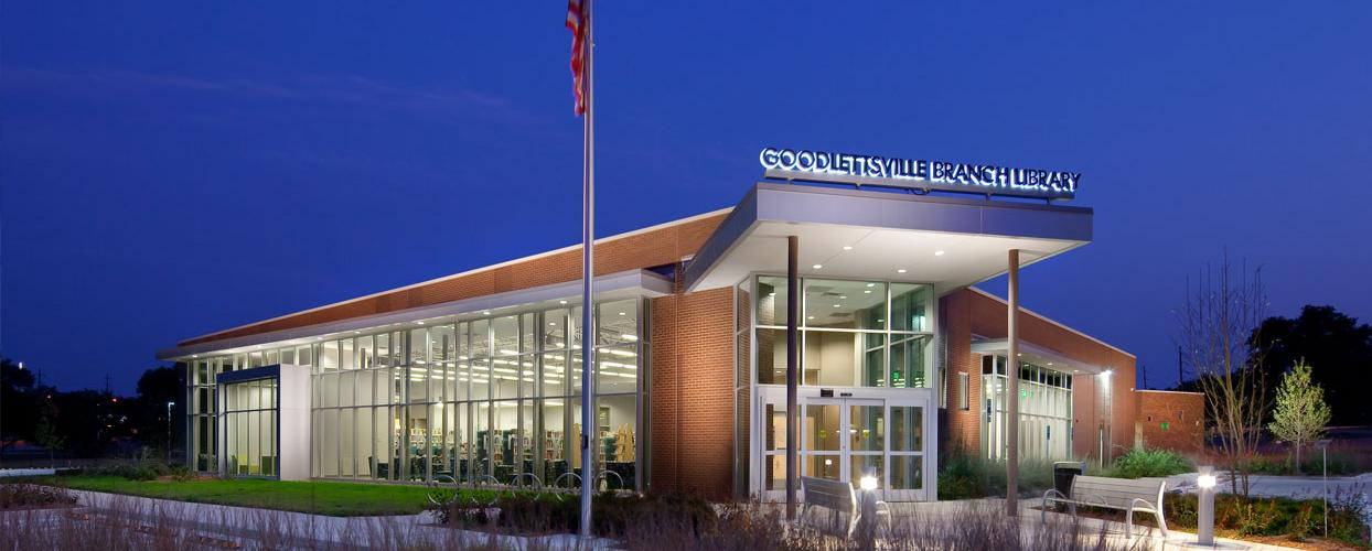 goodlettsville exterior night-time