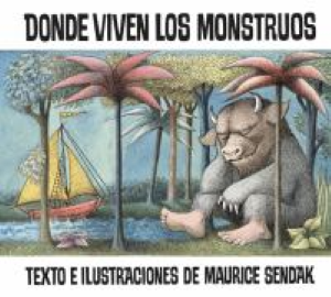"""Where the Wild Things Are"" Book Cover Spanish Edition"